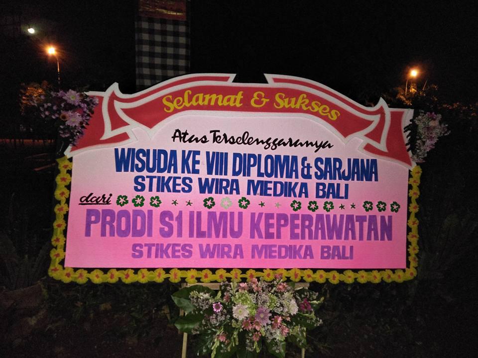 Papan Ucapan Wisuda Denpasar