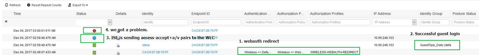 SEC-4 5 1 Troubleshooting Web Authentication (WebAuth) for ISE |