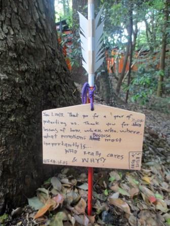 Fushimi Inari Taisha note