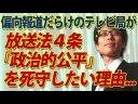 【竹田恒泰】偏向報道専門のテレビ局が放送法『政治的公平』条文を死守したい理由についての画像