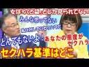 【セクハラの基準】田嶋陽子「セクハラする人は言ってる本人に自覚がない」についての画像