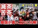【韓国】保守系団体3000人が集結!文大統領は逆賊、越北罪、反逆罪!の画像