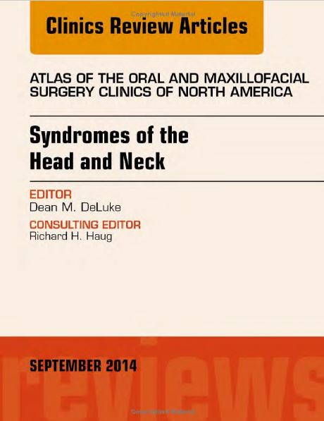 Dental Library Syndromes Of The Head And Neck Dental Library