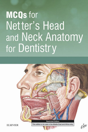 MCQs for Netter's Head and Neck Anatomy for Dentistry – Dental Library