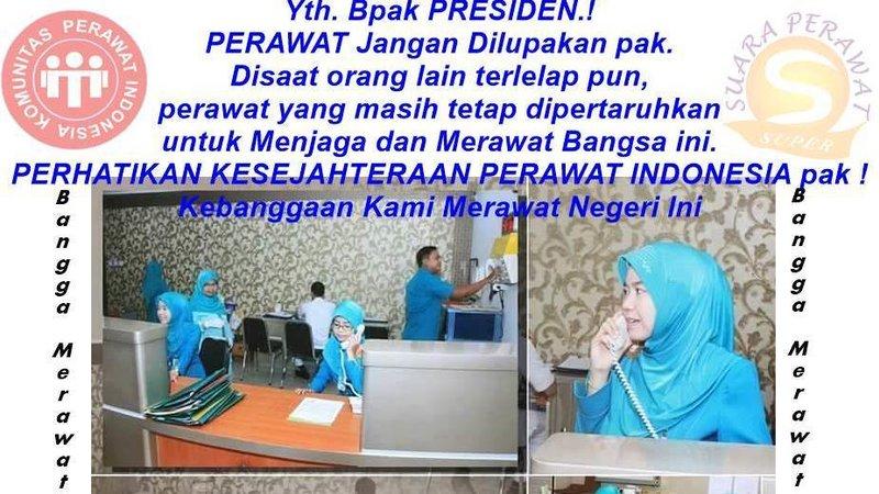Petisi Perawat Indonesia Untuk Presiden Joko Widodo