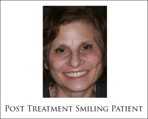 Smiling Patient Following No Bone Solution Treatment