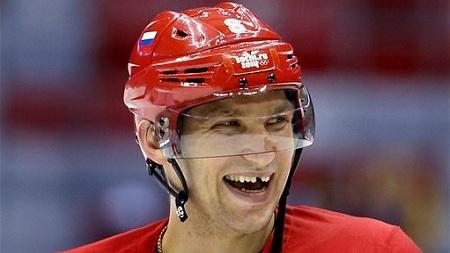 Ovechkin Sochi Smile
