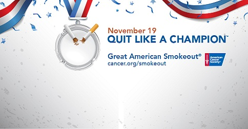 Quit Smoking During the Great American Smokeout