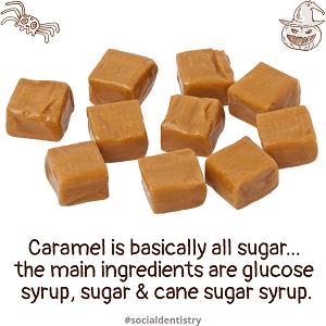 8 worst halloween candies for teeth caramel