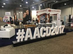 aacd 2017 conference booth