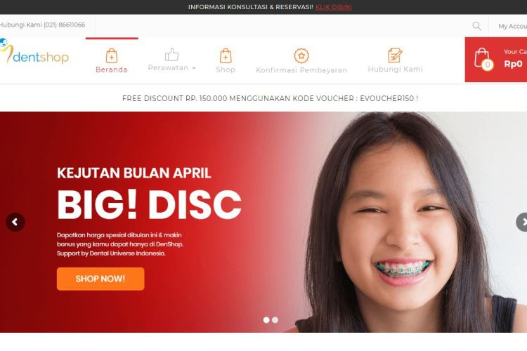 Feature Image Dentshop by Dental Universe Indonesia