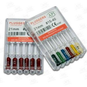 API ROOT CANAL PLUGGERS-STAINLESS STEEL/NITI.