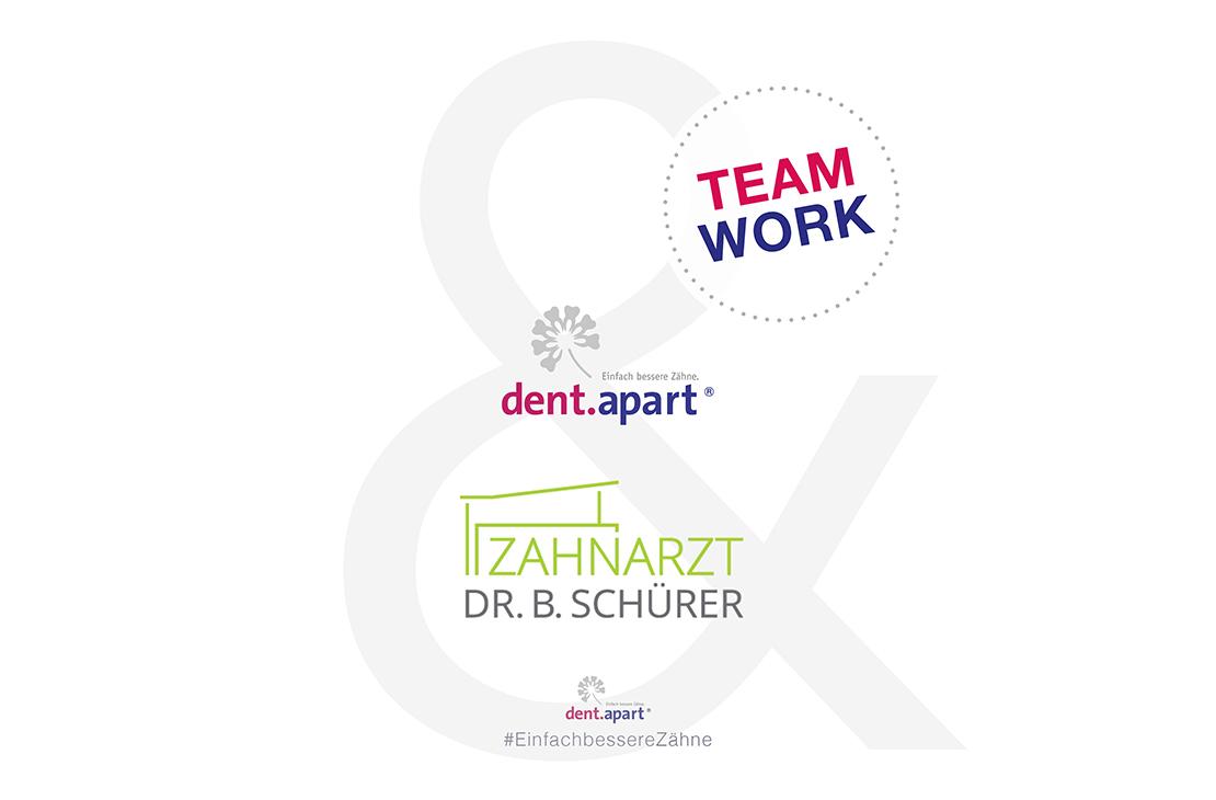 Teamwork! Unsere Zusammenarbeit mit der Praxis Dr. Burkhard Schürer