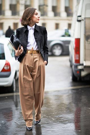 Image result for baggy trousers street style