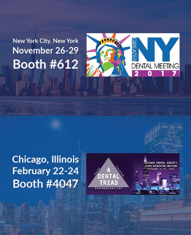 Dental Tradeshow Booths in Q4 2017