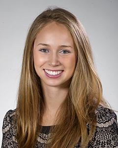 Jordin Fisch, second-year dental hygiene student