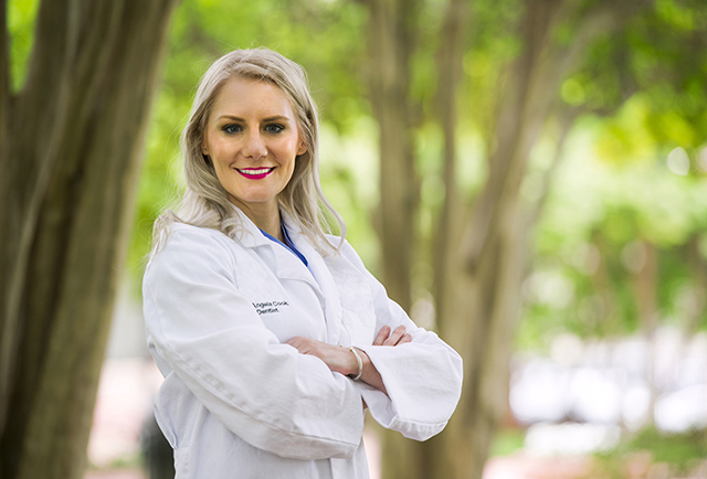 Dr. Angela Cook, TAMBCD pediatric dentistry resident