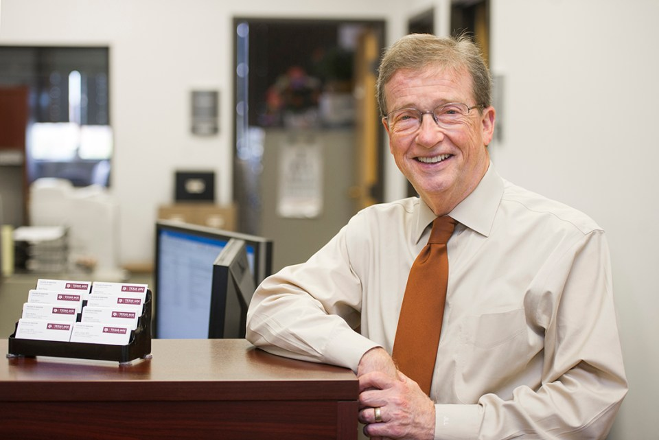 Dr. Jack Long, associate dean for student affairs