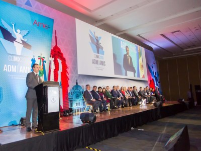 Mexican Dental Association International Congress of Dentistry opening ceremony