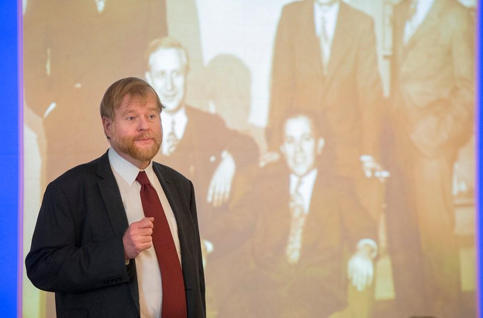 Dr. Thomas Diekwisch, first holder of the Bernhard Gottlieb Endowed Chair in Craniofacial Research