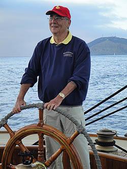 Dr. Woody sailing