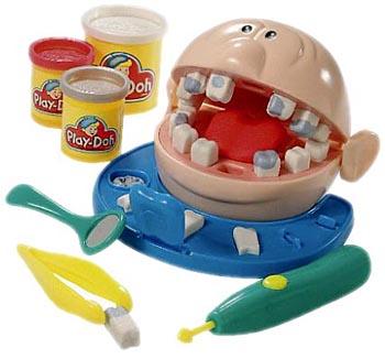 Se tivesse me dado um desses quando criança, eu teria desistido de fazer odonto