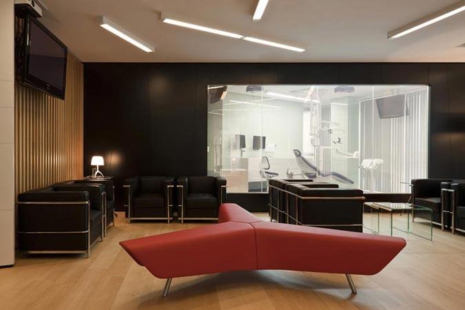 Sala de espera Dentoral Centros Odontológicos