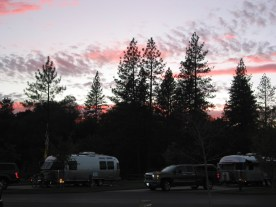 Sunset at Jackson Rancheria