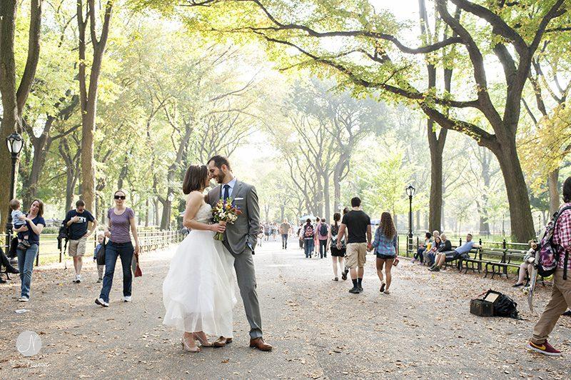 Central Park de casamento