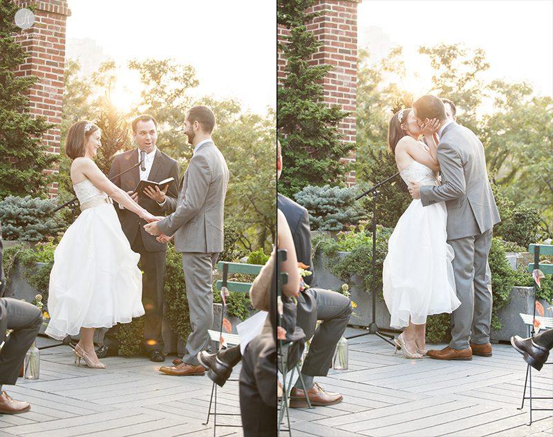 Pôr do sol Cerimônia de Casamento