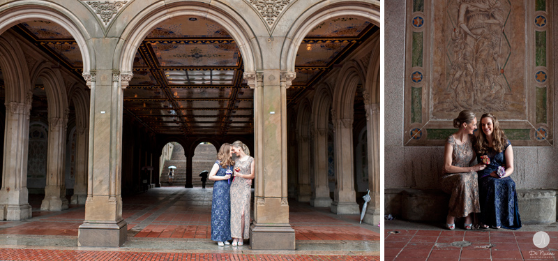 Andressa Amp Beth Elope In Central Park Ladies Pavilion Wedding