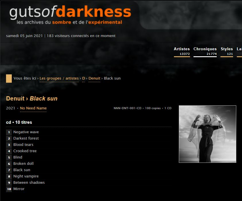 Denuit on guts of darkness