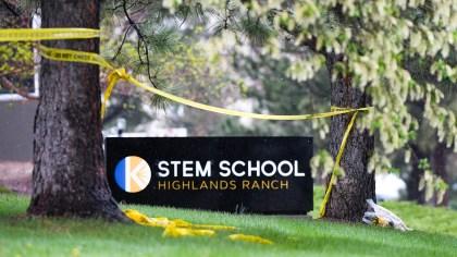 STEM School Highlands Ranch Shooting Scene on May 8, 2019