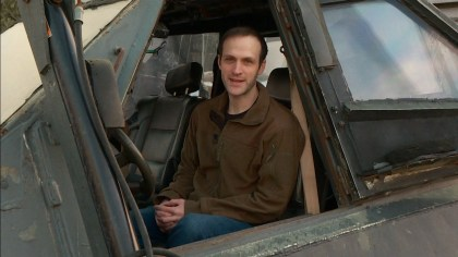 Ryan Shepard, owner of the Tornado Intercept Vehicle