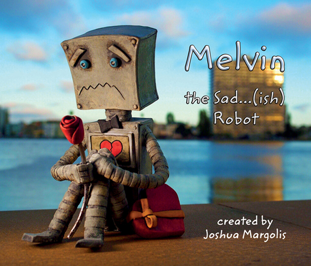 Melvin the Sad...(ish) Robot