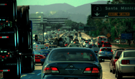 Denver is at a crossroads, like L.A. was when officials decided to build a massive freeway system that's responsible for choking the city. Photo: Flickr via Thomas Lin