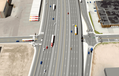 I-70 is poised to become a massively wide highway. Image: CDOT