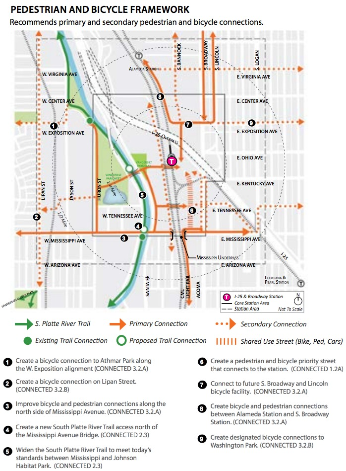 Does the plan for i 25 and broadway do enough for biking and image city and county of denver malvernweather Image collections