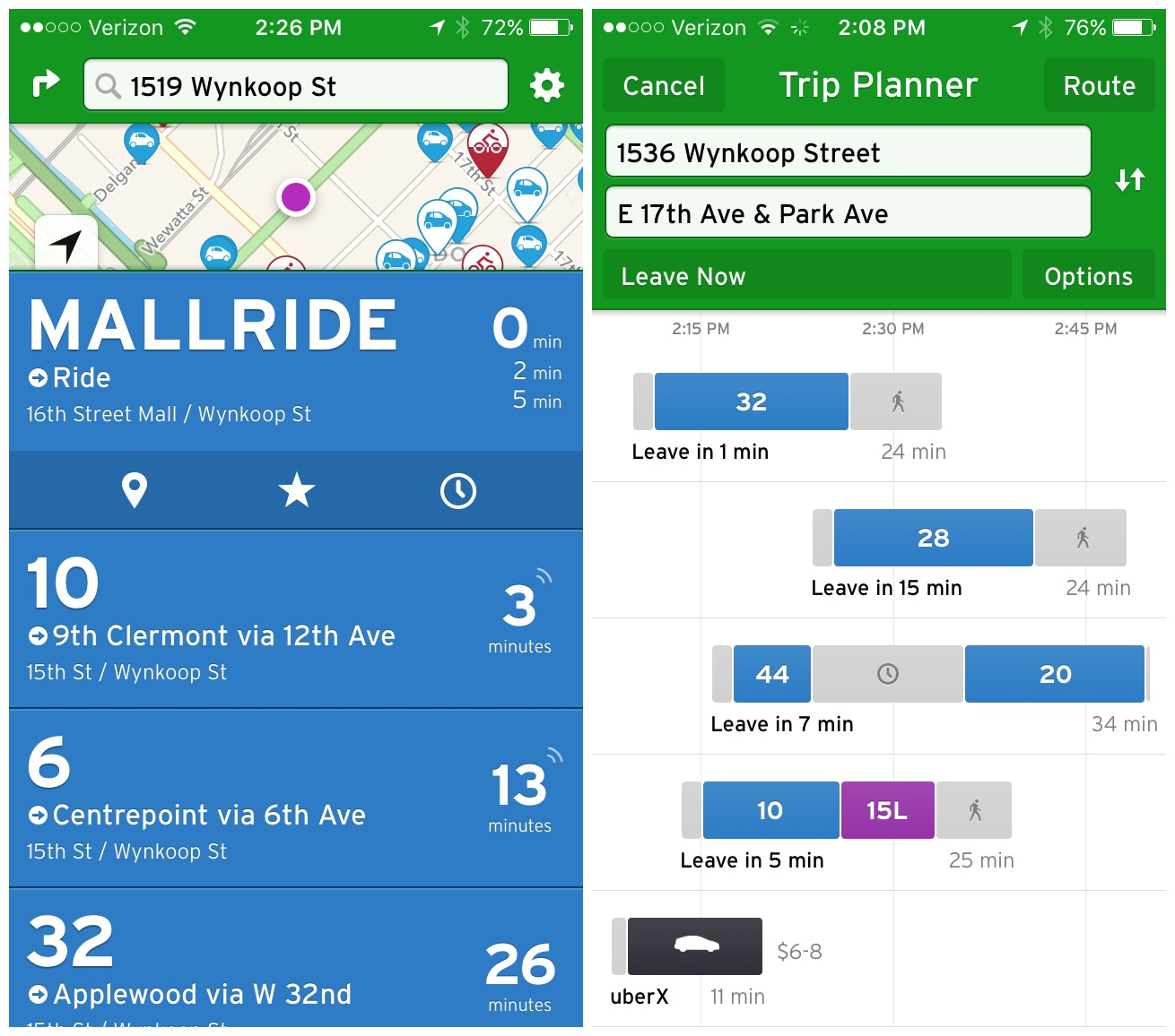 Hallelujah: RTD Launches Real Time Data on Local Bus Routes