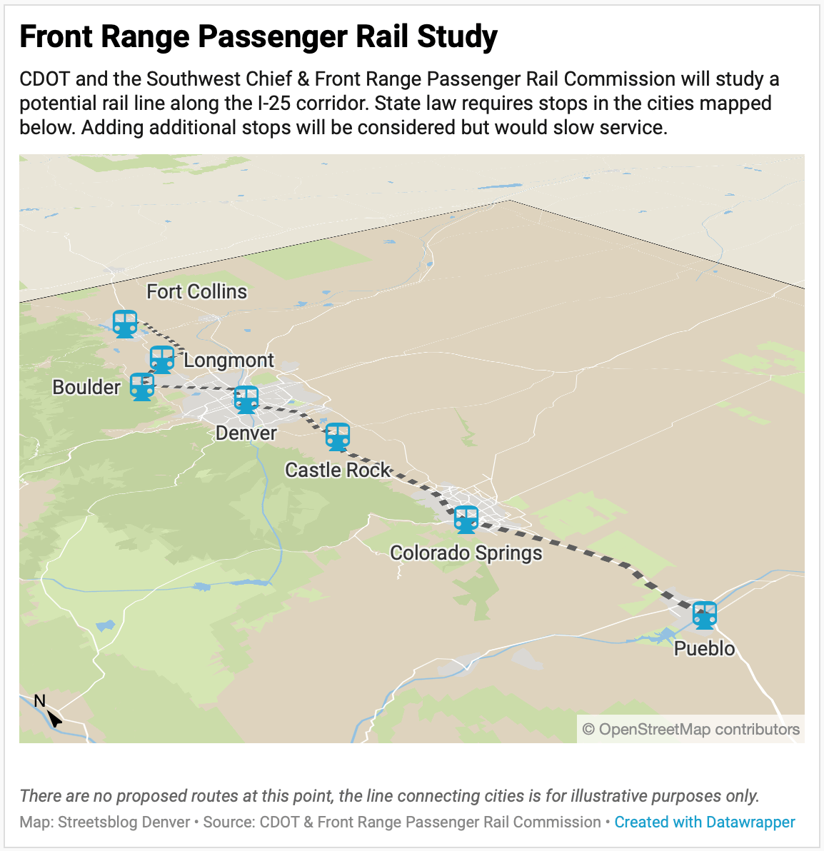 After Study of High-Sd Rail Along Front Range, Slower, Cheaper ... on