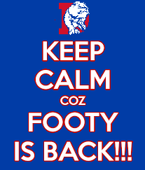 FOOTY IS BACK