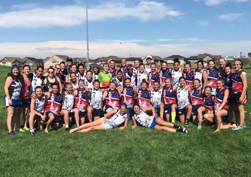 Lady Bulldogs represent at USAFL Freedom Camp