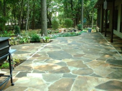 denver flagstone patio masonry add beauty