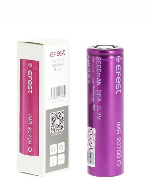 Sameday Delivery | Efest 20700 Vape Battery