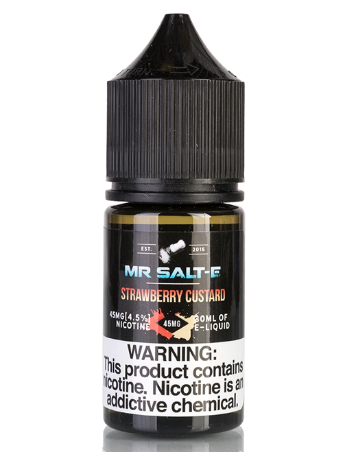 Same day Delivery | Mr. Salt-E Strawberry Custard - Online vapestore