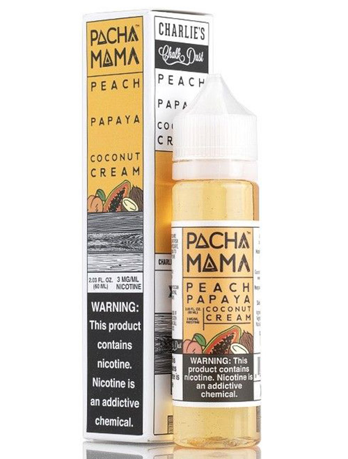 Same day Delivery | Peach Papaya Coconut Cream  60ml- Online vapestore