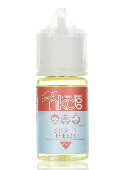 Sameday Delivery| Naked Brain freeze Salt 30ml ejuice - online vapestore