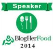 Blogher Food 2014 Speaker