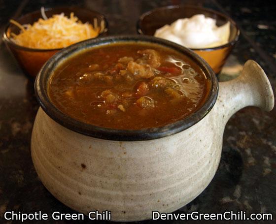 Chipotle Green Chili Recipe