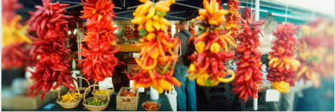 Chili Pepper Ristras in Seattle